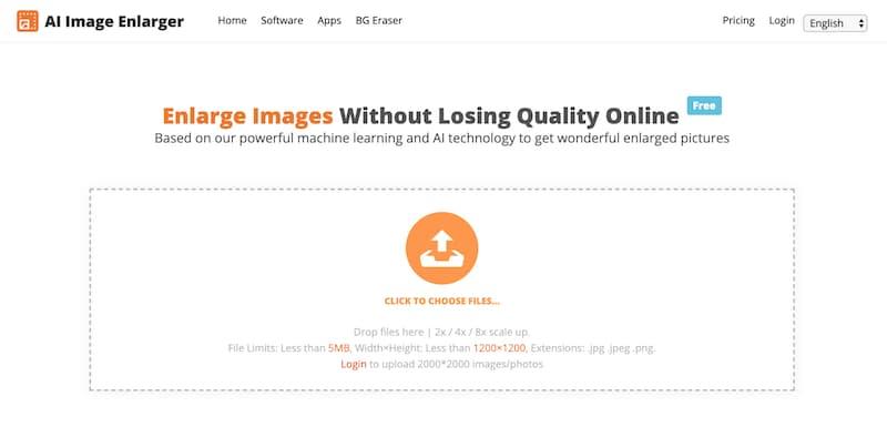 Revisión de AI Image Enlarger