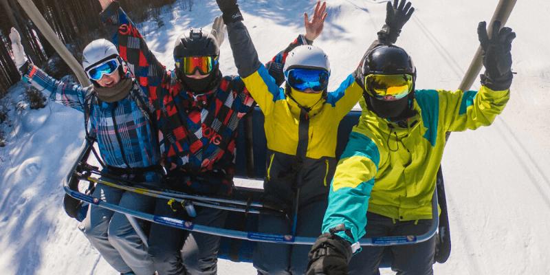 La mejor GoPro para esquiar y hacer snowboard