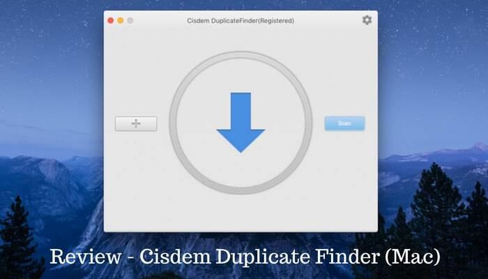 Revisión: Cisdem Duplicate Finder para Mac