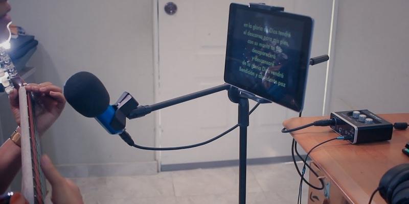 El mejor soporte para tableta para soporte de micrófono