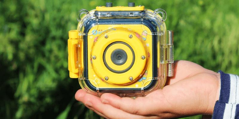La mejor cámara impermeable para niños