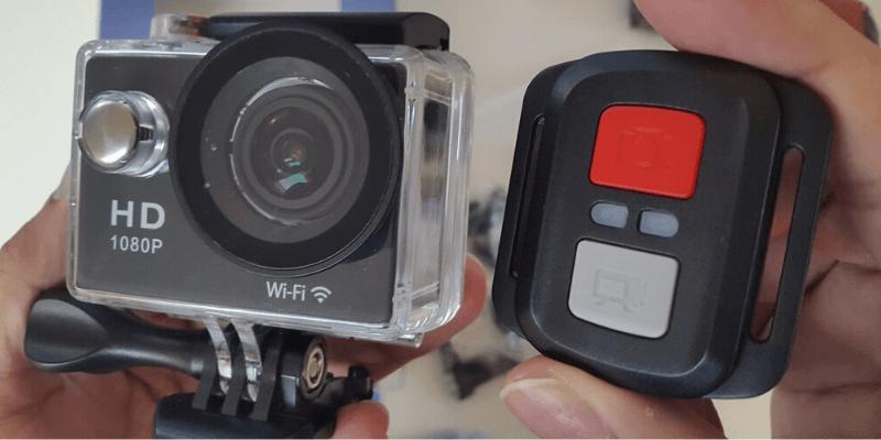 Mejor cámara de acción por menos de $ 100