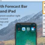 Forecast Bar Review: la mejor aplicación de pronóstico del tiempo para dispositivos Apple