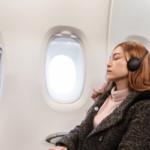 Los mejores auriculares para dormir en el avión