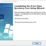 Revisión de recuperación de datos de iCare