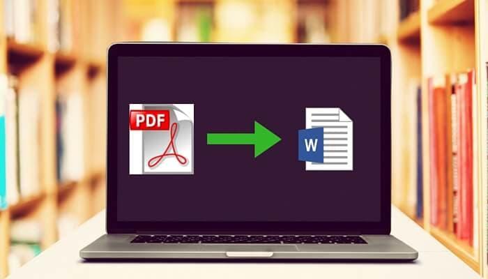 4 formas de convertir PDF escaneado a Word